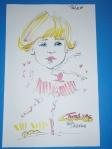 Caroline's caricature